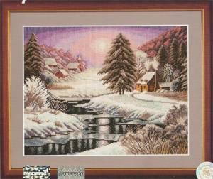 Схема В плену у зимней красоты