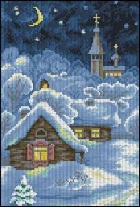 Схема Рождественская сказка