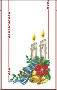 Схема Рождественская зарисовка
