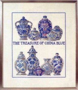 Схема Китайские вазы