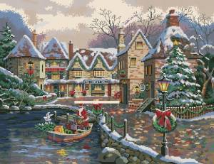 Схема Санта в лодке
