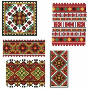 Схема Пять орнаментов