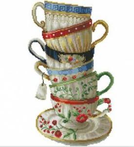 Схема Чайные чашки