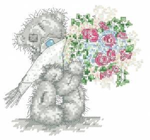 Схема Мишки Тедди / Paper Bouquet