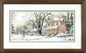 Схема Зима на главной улице