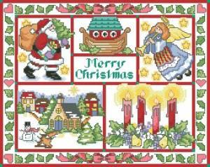 Схема Дух Рождества
