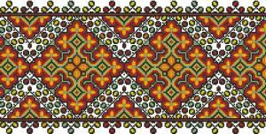 Схема Узор, ромбы