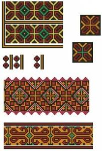 Схема Орнамент, милые узоры