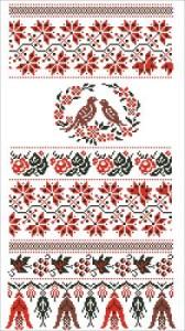Схема Рушник весільний (Центральна Україна)