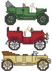 Схема Старые машины