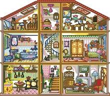 Схема Кукольный домик