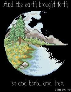 Схема Земной шар 3