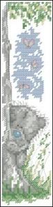 Схема Мишки Тедди. За деревом