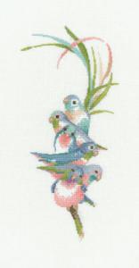 Схема Радужные птицы / Rainbow Birds