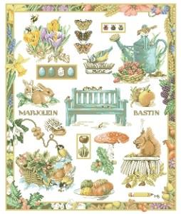 Схема В саду
