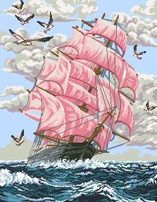 Схема Алые паруса