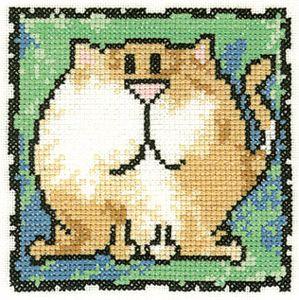 Схема Серия «Смешные животные» Кот