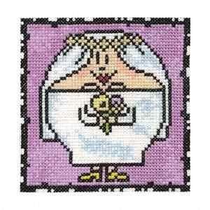 Схема Серия «Смешные человечки» Невеста