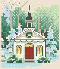 Схема Маленькая зимняя церковь