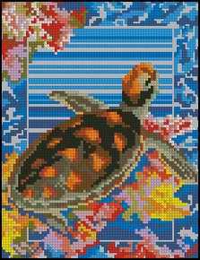 Схема Морская черепаха