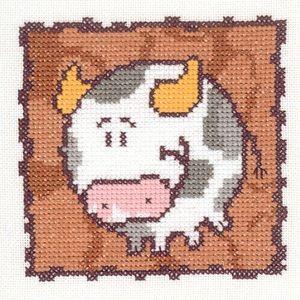 Схема Серия «Смешные животные» Бык