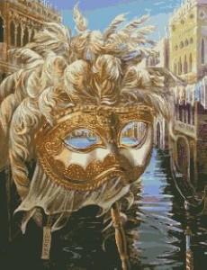 Схема Венецианская маска