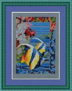 Схема Коралловые рыбки