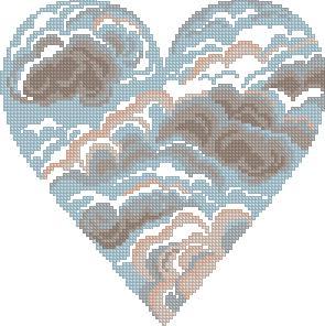 Схема Небесное сердце / Sky Heart