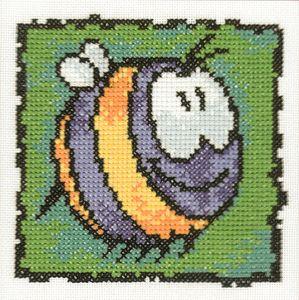 """Схема Серия """"Смешные животные"""" Пчела"""