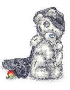 Схема Мишка Тедди. Школьник