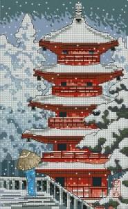 Схема Красная пагода