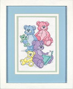 Схема Цветные мишки