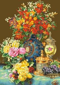 Схема Натюрморт с вазами