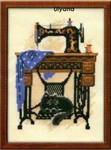Схема Кошка под швейной машиной