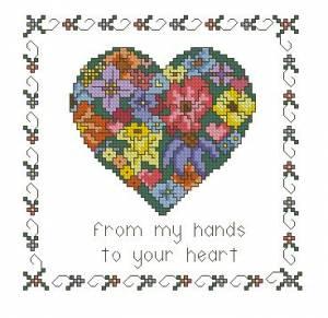 Схема В моих руках твое сердце
