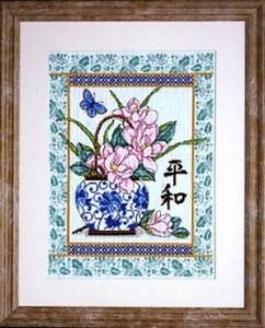 Схема Восточные цветы / Oriental Floral