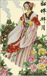 Схема Девушка-японка