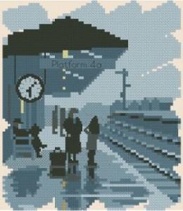 Схема Серия миниатюр. Вокзал