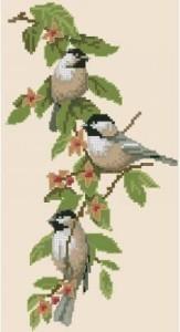 Схема Очарование синички  / Chickadee Charm