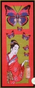 Схема Яркие бабочки