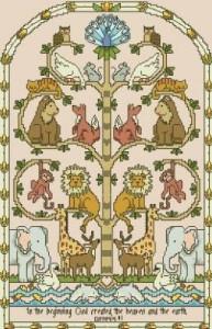 Схема Дерево с животными
