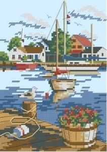 Схема Портовый вид / Dockside View