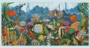 Схема Подводный рай