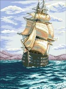 Схема Смотр черноморского флота (по картине И.К.Айвазовского)