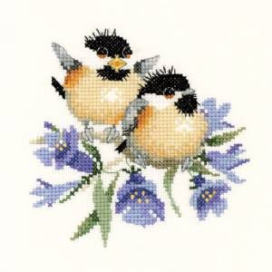 Схема Колокольчик / Bluebell Chick-Chat