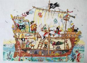 Схема Пиратский корабль