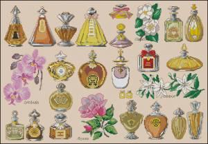 Схема Бутылочки от парфюма