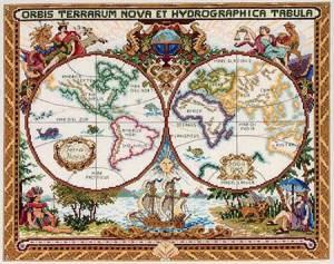 Схема Карта мира