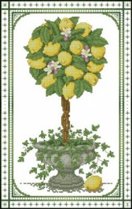 Схема Лимонный топиар