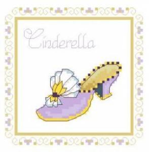 Схема Туфелька Золушки / Shoe Cinderella